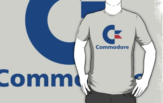 Classic Commodore C64 Graphic Tee by defunkt