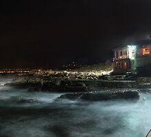 Misty dusk at Kalk Bay harbour by galemc