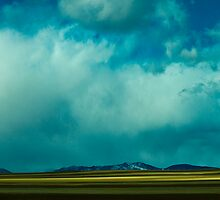 Storm Across Moves Across The Plains by Greg Summers
