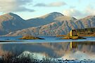 Castle Stalker, Highlands, Scotland by David Alexander Elder