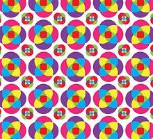 Psychedelic Pinwheels by Wealie