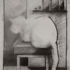 Thumper the cat by Odille Esmonde-Morgan