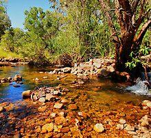 A stony creek in the Kimberley by georgieboy98