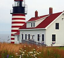 West Quoddy Light by Sevastra