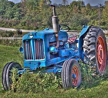 Fordson Diesel Tractor by CJ Fuchs