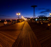 Boardwalk by Night by briceNYC