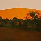 Uluru at Sunrise by Ronald Rockman
