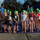 Kingscliff Triathlon 2011 Swim leg C232 by Gavin Lardner