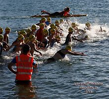 Kingscliff Triathlon 2011 Swim leg C259 by Gavin Lardner