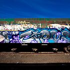 Grafitti Train by morealtitude