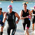 Kingscliff Triathlon 2011 Swim leg C296 by Gavin Lardner