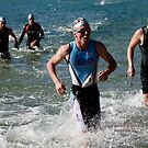 Kingscliff Triathlon 2011 Swim leg C367 by Gavin Lardner
