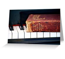 Music of the Poets Greeting Card