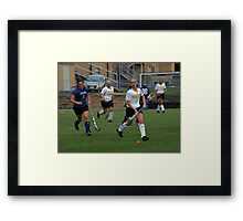 091611 123 0 field hockey Framed Print