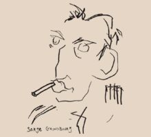 Serge Gainsbourg by Johnny Depp by Earth-Gnome