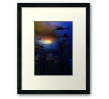 MIB Framed Print