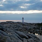 Lighthouse from Afar - Peggy&#x27;s Cove by Caites
