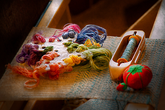 Sewing - Yarn - Threads of time by Mike  Savad