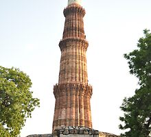 Qutab Minar (an ancient Mughal architecture) by Mudit's Photography