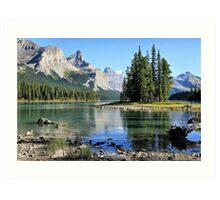 Spirit Island, Maligne Lake, Jasper NP Art Print