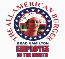 American Burger Employee of the Month  by BUB THE ZOMBIE