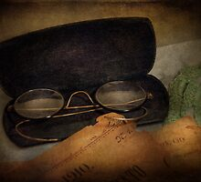 Optometrist - Glasses for Reading  by Mike  Savad