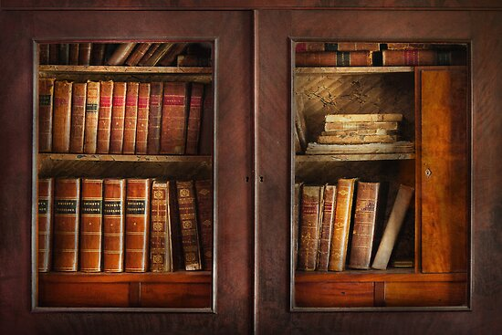 Writer - Books - The book cabinet  by Mike  Savad