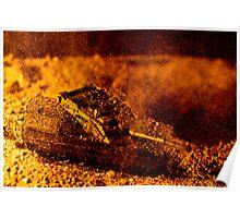 Blast On The Desert Poster
