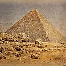 Great Pyramid of Khufu by Nigel Fletcher-Jones