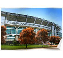 Cleveland Browns Stadium - Cleveland, Ohio Poster