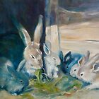 Bunny Picnic by Jenny Hambleton