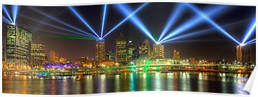 City of Lights • Brisbane by William Bullimore