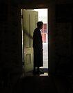 """Lady in a Doorway"" by waddleudo"