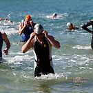 Kingscliff Triathlon 2011 Swim leg C382 by Gavin Lardner
