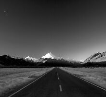 The road to Aoraki by bonsta