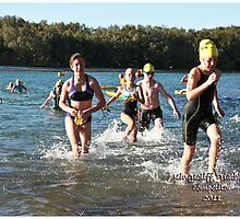Kingscliff Triathlon 2011 Swim leg P145 by Gavin Lardner