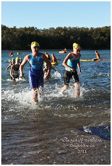 Kingscliff Triathlon 2011 Swim leg P150 by Gavin Lardner