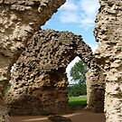 Sherborne Old Castle (2) by kalaryder