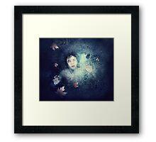 Beneath the Ice Framed Print