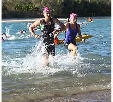 Kingscliff Triathlon 2011 Swim leg P193 by Gavin Lardner