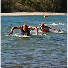 Kingscliff Triathlon 2011 Swim leg P246 by Gavin Lardner