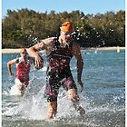 Kingscliff Triathlon 2011 Swim leg P248 by Gavin Lardner