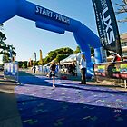 Kingscliff Triathlon 2011 Finish line B5891 by Gavin Lardner
