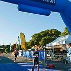 Kingscliff Triathlon 2011 Finish line B5897 by Gavin Lardner
