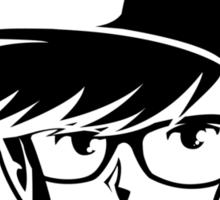 The Wayfarer - Commemorating Zelda and Hipsters Sticker