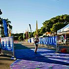Kingscliff Triathlon 2011 Finish line B5899 by Gavin Lardner