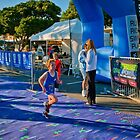 Kingscliff Triathlon 2011 Finish line B5903 by Gavin Lardner