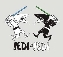 Jedi vs Jedi by nikholmes