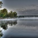 Mist on Honeoye by Raider6569