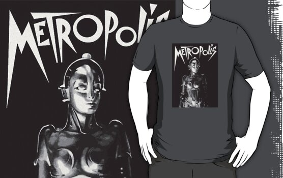 Metropolis Retro  by PopCultFanatics